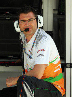 Bradley Joyce, Sahara Force India F1 Race ingenieur