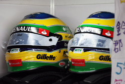 Helmets for Bruno Senna, Williams