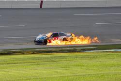 Bobby Labonte on fire