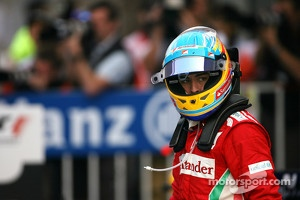 Third place Fernando Alonso, Scuderia Ferrari