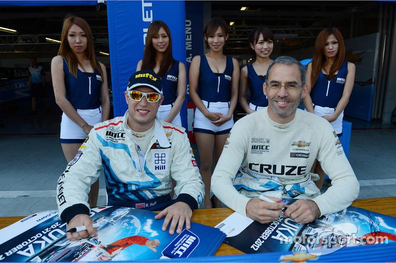 Robert Huff, Chevrolet Cruze 1.6T, Chevrolet en Alain Menu, Chevrolet Cruze 1.6T, Chevrolet
