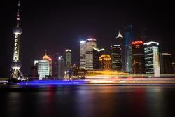Shanghai Bund Skyline