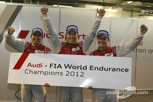 2012 champions Marcel Fässler, Benoit Tréluyer, Andre Lotterer