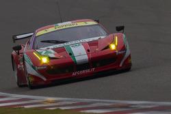 #71 AF Corse Ferrari F458 Italia: Andrea Bertolini, Olivier Beretta
