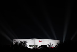Audi building shines bright at Shanghai circuit