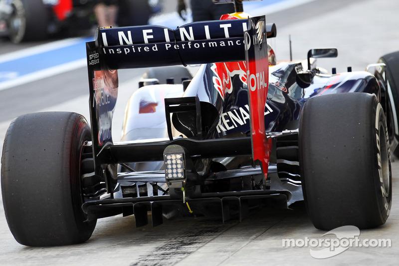 Sebastian Vettel, Red Bull Racing achtervleugel en diffuser