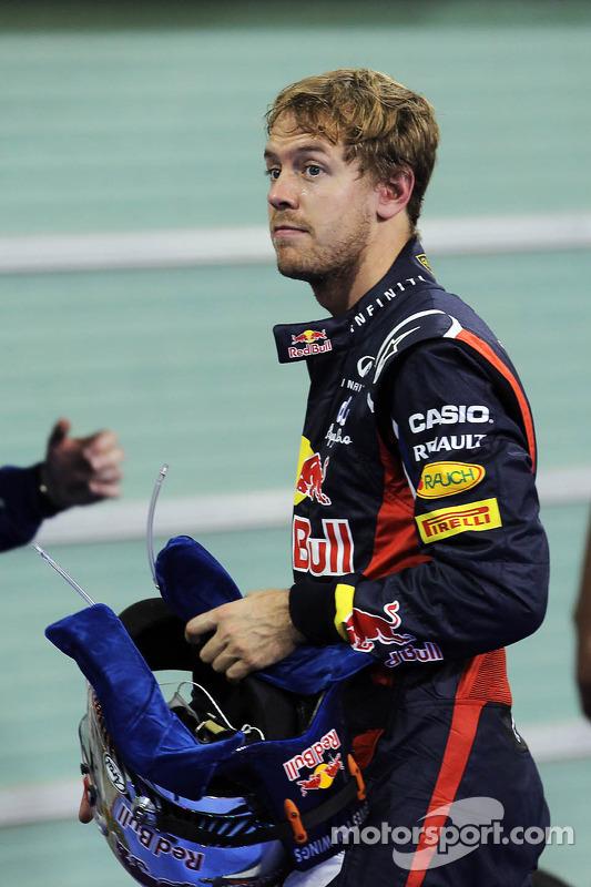 Sebastian Vettel, Red Bull Racing in parc ferme
