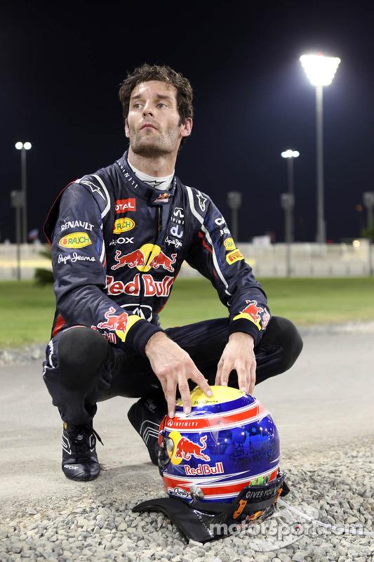 Mark Webber, Red Bull Racing crash