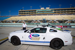 Pace car rides with David Ragan and Ricky Stenhouse Jr.