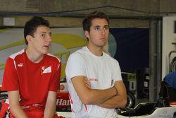 Даниэль Хункаделья и Рафаэле Марчелло. ГП Макао, пятничная квалификация.
