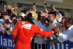Third place Fernando Alonso, Ferrari