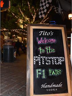 Austin Fan Fest on the Saturday night