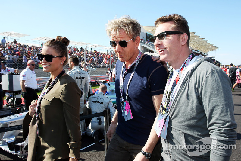 Gordon Ramsey, sterrenchef op de grid