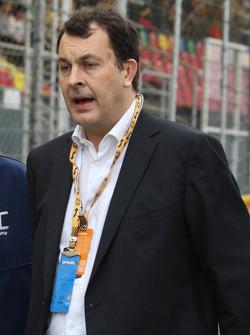 Jacques Raynaud, vice president Eurosport