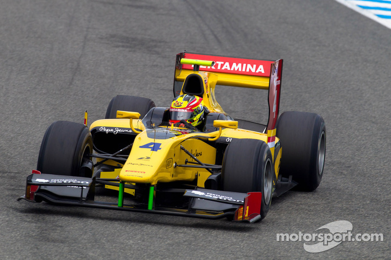 2012: Dallara GP2/11 Mecachrome, GP2