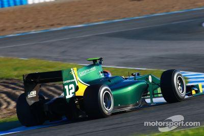 November Jerez test