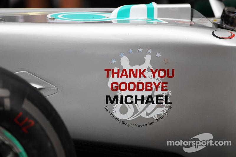 Mercedes depide a Michael Schumacher, Mercedes AMG F1