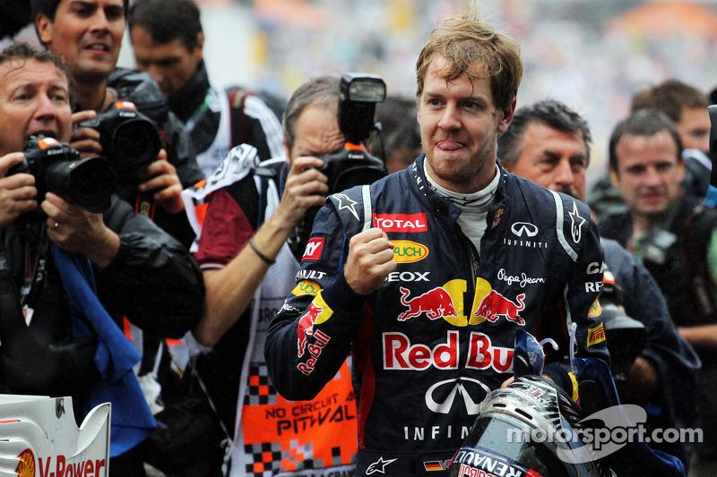 2012 World Champion Sebastian Vettel, Red Bull Racing