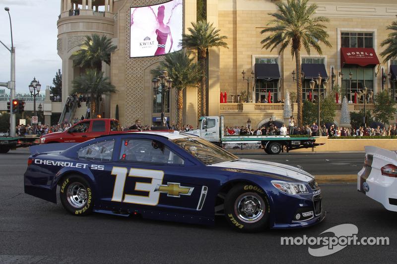 James Buescher bestuurt de 2013 Chevrolet SS