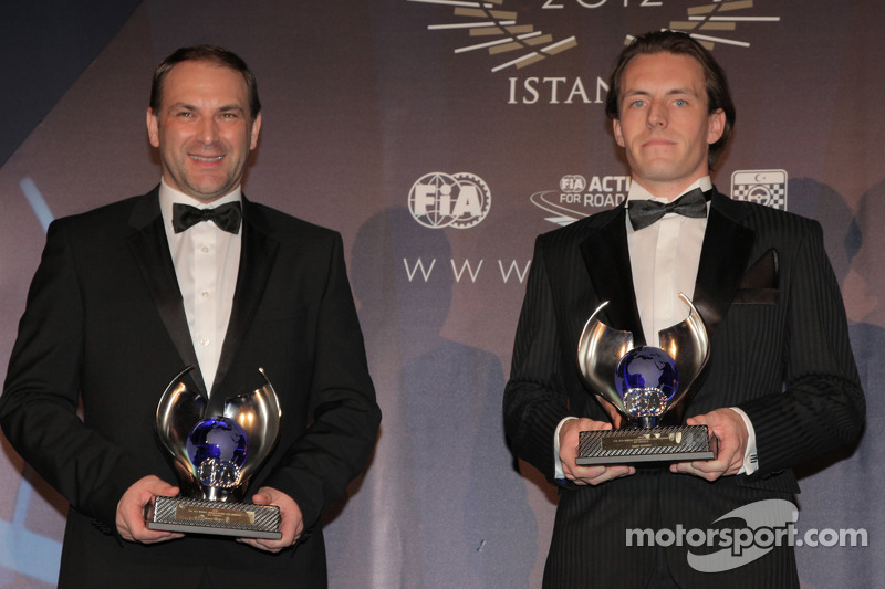 Михаэль Бартельс и Йелмен Бурман. Церемония награждения FIA, Стамбул, Турция, Особое мероприятие.