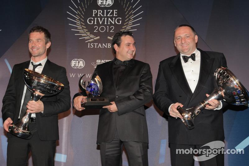 Себастьен Лёб и Даниэль Элена. Церемония награждения FIA, Стамбул, Турция, Особое мероприятие.