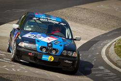 #212 BMW 325i: Kornelius Hoffmann, Thomas Simon, Dirk Roth, Michael Kallscheid