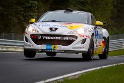 #101 Team Peugeot RCZ Nokia Peugeot RCZ: Michael Bohrer, Stéphane Caillet, Jürgen Nett, Julien Piguet