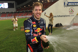 First place Sebastian Vettel