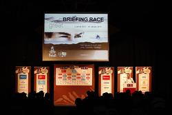 briefing da corrida