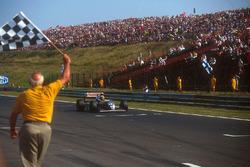 Damalı bayrak: Damon Hill, Williams FW15C Renault