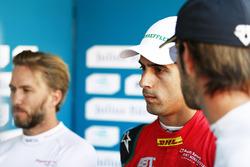 Nick Heidfeld, Mahindra Racing, Lucas di Grassi, ABT Schaeffler Audi Sport, andJean-Eric Vergne, Techeetah