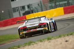 #26 Sainteloc Racing Racing Audi R8 LMS: Christian Kelders, Marc Rostan, Fred Bouvy, Grégory Guilvert