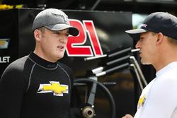 Ty Dillon, Richard Childress Racing Chevrolet and Daniel Hemric, Richard Childress Racing Chevrolet