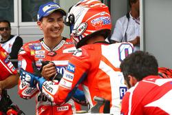 Jorge Lorenzo, Ducati Team, Andrea Dovizioso, Ducati Team