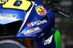 Carénage Yamaha sur la moto de Valentino Rossi, Yamaha Factory Racing