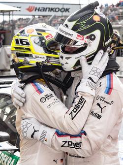 Race winner Timo Glock, BMW Team RMG, BMW M4 DTM, third place Maxime Martin, BMW Team RBM, BMW M4 DTM