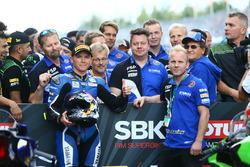 Sheridan Morais, Kallio Racing Yamaha, vainqueur de la course
