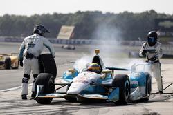 Габбі Чавес, Harding Racing Chevrolet, pit stop