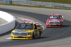 Grant Enfinger, ThorSport Racing Toyota and Austin Wayne Self, AM Racing Toyota