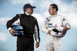 Klaus Ludwig, Mercedes 190 E DTM and Johnny Cecotto, BMW M3 DTM