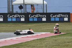 Авария: Лоренцо Далла Порта, Aspar Team