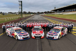 Jamie Whincup, Paul Dumbrell, Craig Lowndes, Steven Richards, Shane van Gisbergen, Matthew Campbell, Triple Eight Race Engineering