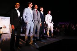 Marc Gene, Ferrari, Antonio Giovinazzi, Sean Gelael, Sergey Sirotkin, Test Driver Renault Sport F1 Team
