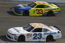 Spencer Gallagher, GMS Racing Chevrolet, Brandon Jones, Richard Childress Racing Chevrolet
