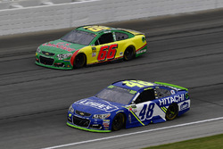 Jimmie Johnson, Hendrick Motorsports Chevrolet, Timmy Hill, Motorsports Business Management Chevrolet