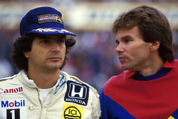 Nelson Piquet, Williams with Peter Windsor, Williams