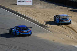 #14 3GT Racing Lexus RCF GT3: Scott Pruett, Sage Karam, #15 3GT Racing Lexus RCF GT3: Scott Pruett, Jack Hawksworth