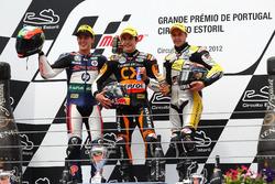 Podium: 1. Marc Marquez, 2. Pol Espargaro, 3. Thomas Luthi