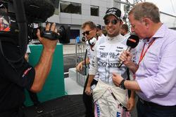 Martin Brundle, Sky TV and Sergio Perez, Sahara Force India