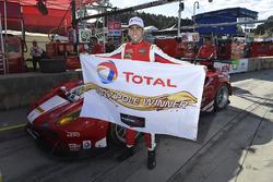 Il poleman GTD Matteo Cressoni, Scuderia Corsa